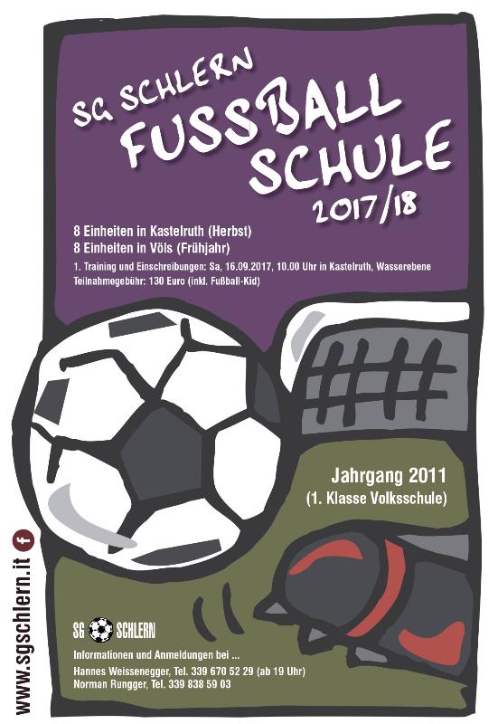 Fußballschule SG Schlern 2017-18