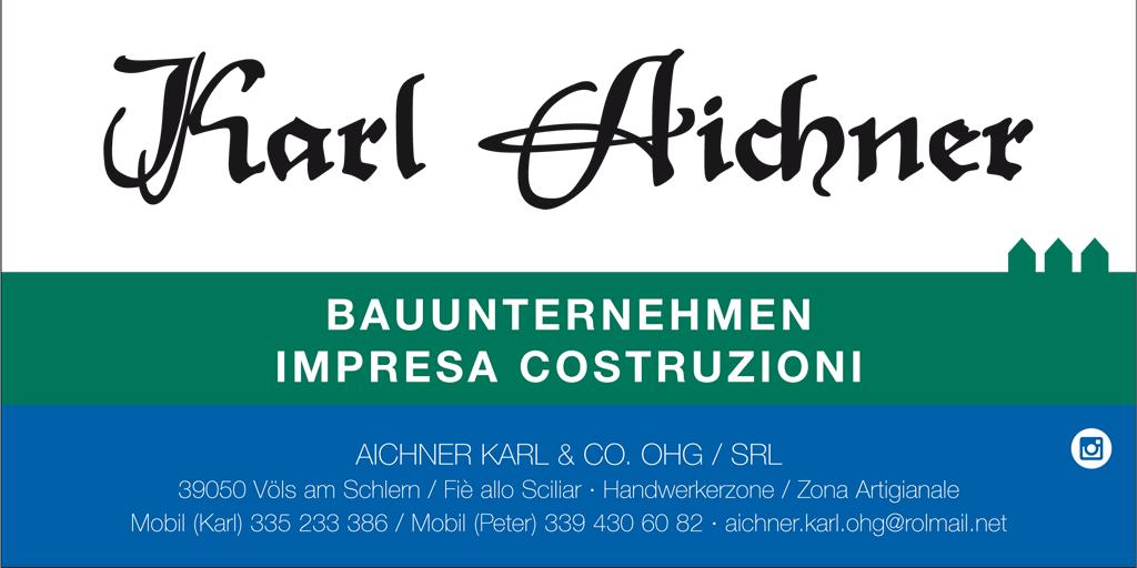 Bauunternehmen Aichner Karl